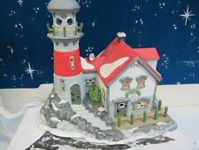 Dept 56 Pigeonhead Lighthouse - New England Village - #56537 (1019)