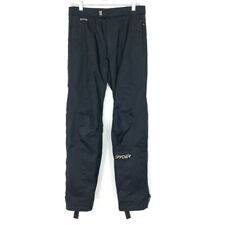 Spyder Mens Size Small Snow Pants Black Ski Snowboard Thinsulate Insulated