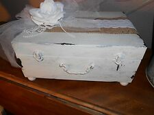 Wedding Cards, Keepsake or Memory Box  Cottage, Chippy, Distressed