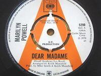 "MARILYN POWELL - DEAR MADAME  7"" VINYL PROMO"