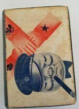 RARE Vintage Book ~ JOHN BULL AT HOME by Karl Silex 1931 Dept. of Navy Equipment