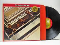 THE BEATLES 1962-1966 DOUBLE LP EX/EX-, PCSP 717, vinyl, album, & lyric inners