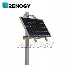Single Side Aluminum Solar Panel Pole Mount 70cm Width Support Renogy 50W 100W