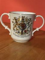 Vintage Royal Doulton Commemorative Prince of Wales Lady Diana 1981 Loving Cup