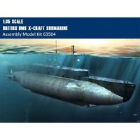 Merit 63504 1/35 Scale British HMS X-Craft Submarine Plastic Assembly Model Kits