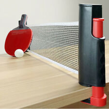 Games Retractable Table Tennis Ping Pong Portable Net Kit Replacement Set Black