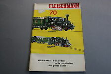 X048 FLEISCHMANN Train catalogue Ho N 1970 56 pages 29,5*20,7 Français piccolo