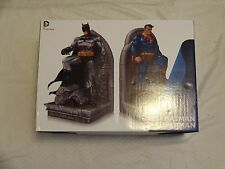 DC Collectibles Bookends Superman & Batman Statue Set Jim Lee New Free Shipping