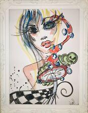 Margarita Bonke Malerei Akt PAINTING Zeichnung sürrealismus Alice in Wunderland