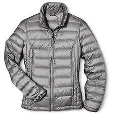 32Degrees Weatherproof Women's Packable Puffer Jacket Gray Deep Pewter - Medium