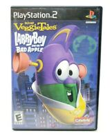 Veggie Tales: Larry Boy and the Bad Apple Sony PlayStation 2 PS2 Game