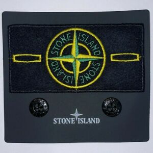Stone Island Badge [Toppa + Bottoni] Badge Ricambio Originale Stone Island Badge