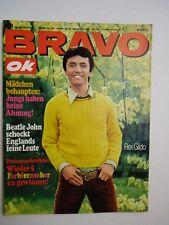 Bravo OK 1967 Nr. 31 Starschnitt Winnetou & Nscho-Tschi Rolling Stones Beatles