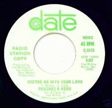 PEACHES & HERB - Soothe Me with Your Love - SOUL DJ 45