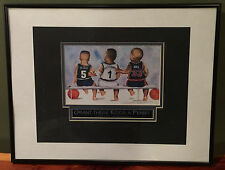 1996 Kenneth Gatewood Grant These Kidds A Penny Signed Basketball Print