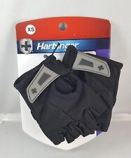 Harbinger Power Womens StretchBack Black Fingerless Weightlifting Fitness Gloves