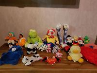 Konvolut  Kuscheltiere Plüschfiguren Stofftiere mit Spieluhr Nemo Wärmflasche
