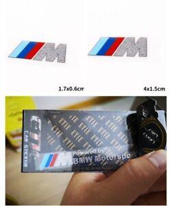 M Performance Sport Mini Metal Sticker for BMW Sports GT X1 X4 M3 M4 M5 M6 Z4