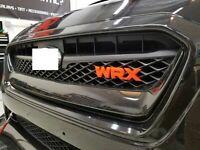 2020 2019 2018 2017 2016 2015 W-RX grill badge Front Grille Emblem Badge- ORANGE