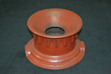 Antique Unusual Cast Iron Spittoon Cuspidor Unique Rim Sides Western Decor