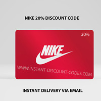 NIKE USA 20% DISCOUNT CODE - VALID UNIQUE PROMO CODE