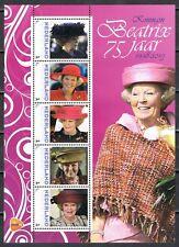 Nederland 2013 3012 serie Beatrix 75 jaar Vel 5 - Royalty