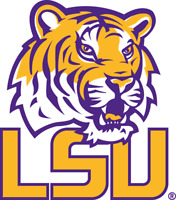 LSU Tigers NCAA Color Die-Cut Decal / Yeti Sticker *Free Shipping