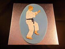 Judo / Karate Martial Arts Sugar Edible Cake Topper for Men and Birthdays