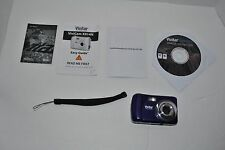 Vivitar ViviCam X014N 10.1 MP Digital Camera Used - Blue