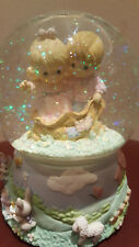 """Precious Moments Musical Snow Globe - """"You are Always There For Me"""". RARE!!"""