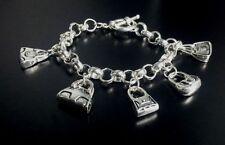 Markenlose Modeschmuck-Armbänder im Ketten-Stil aus Metalllegierung