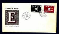 GREECE - GRECIA - 1963 - Europa - Disegno geometrico con le iniziali CEPT - (E)