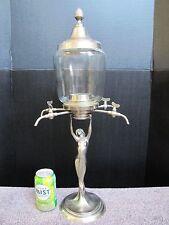 Antique Art Nouveau Lady Statue Coffee Dispenser.