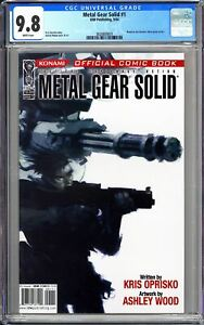 Metal Gear Solid #1 CGC 9.8 WP 2004 3828809001 Konami Video Game! MOVIE Soon!
