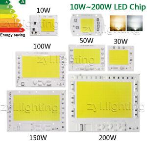 Luce a LED chip COB 220V calda fredda Integrato 50W 100W 150W 200W RICAMBIO FARO