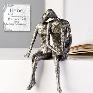 "Casablanca Design Skulptur ""Couple"" Dekoration Modern TOP 59657 Geschenk Liebe"