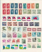 china mounted mint and used stamps ref 13106