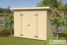 Elementbau-Pultdach Gartenhäuser & Geräteschuppen mit 3,1-5 m² Fläche