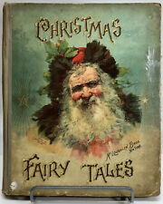 CHRISTMAS FAIRY TALES 1897 ~ Antique illustrated SANTA CLAUS childrens