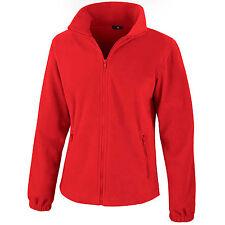 Womens Ladies Full Zip Outdoor Fleece Fashion Fit Jacket Size 8 – 18 Free PnP