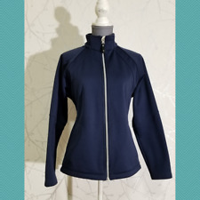 Sunice Six Layers Navy Full Zip Waterproof Jacket | Women's L