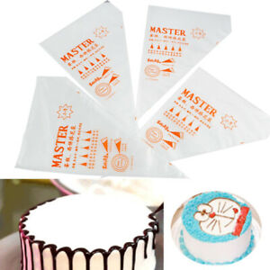 100Pcs/Lot Disposable Cream Pastry Cake Icing Piping Decorating Bags