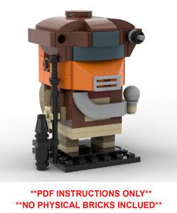 Lego Star Wars Brickheadz -Boushh Custom MOC - PDF INSTRUCTIONS ONLY