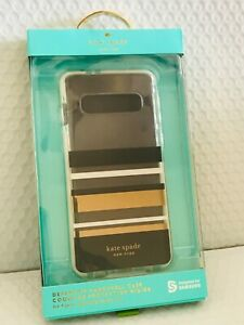kate spade  - Defensive Hardshell Case for Samsung Galaxy S10 - Park Stripe NEW!