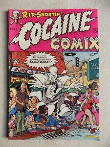 Cocaine Comix #1 - 1st Print - 1975 Adult Only Last Gasp Berkely CA Underground