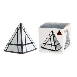 Shengshou 3x3x3 Irregular  Mirror Magic Cube Puzzle Fun Pyramid Kids Toys