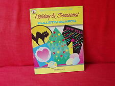 Holiday & Seasonal Bulletin Boards by Imogene Forte (1986 Paperback) Home School
