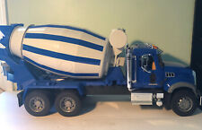 Bruder #02814 1:16 Scale Mack Granite Cement Mixer Truck