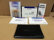 04 2004 Suzuki Forenza owners manual complete set NEW
