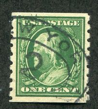 (1910-13) #392 1¢ Franklin nice used stamp